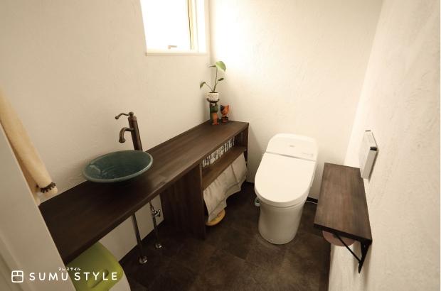 寛ぎの空間となったトイレ