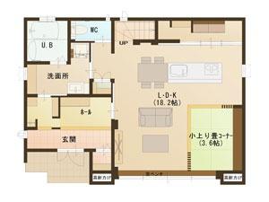 1階間取り図