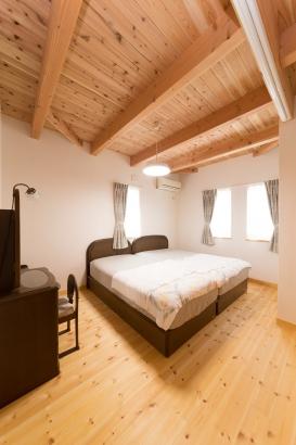 上質な睡眠のできる寝室