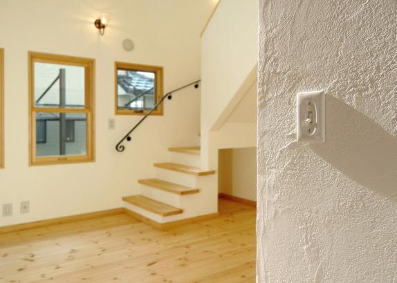 家族のコミュニケーションが増える、リビング階段