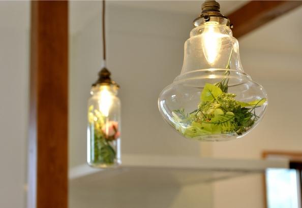 キッチン照明 おもわずかわいい!と声が出ます