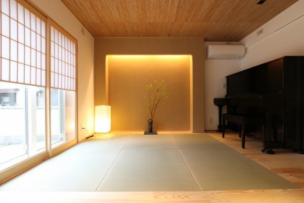 間接照明を使った落ち着きある和室