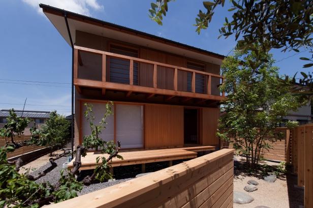 やさしい木の家