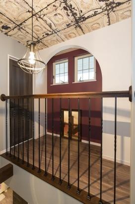 2階ホールデザインも美術館のように