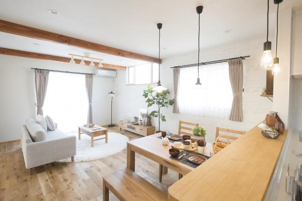 カフェのようにゆったりと暮らせる空間。