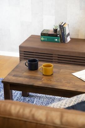 家具や小物ひとつひとつにもこだわっています。