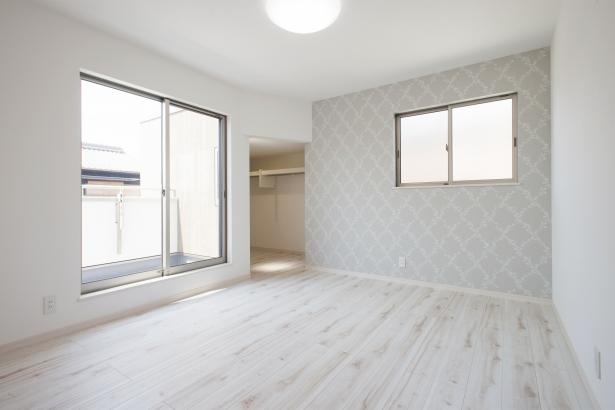 ストークガーデン曽根5号地-モデルハウス 主寝室-