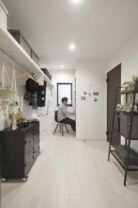 広いスペースを家族で共有したり、自分だけの趣味空間にしたりと使い道はそれぞれ。