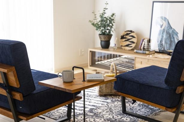 家具や雑貨ひとつひとつにもこだわっています。