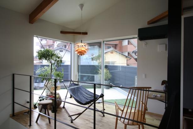 家族を守り、3世代住み継げる家 モデル 2階