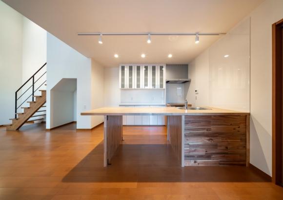 はりまの家新築 ダイニングキッチン