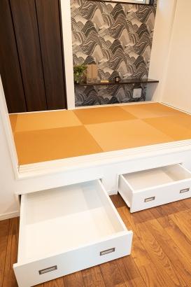 便利な床下収納付きの和室
