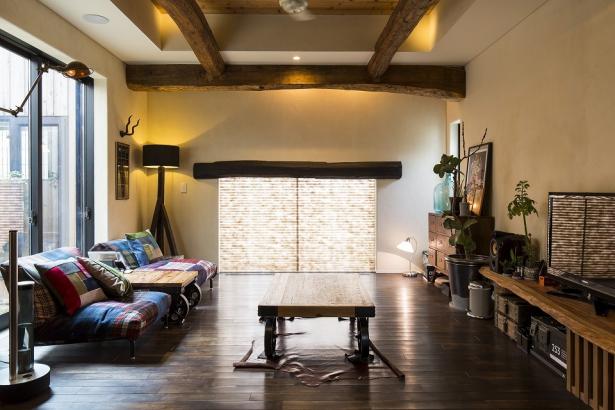 個性的な家具 リビング