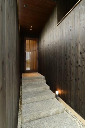 京町屋 玄関