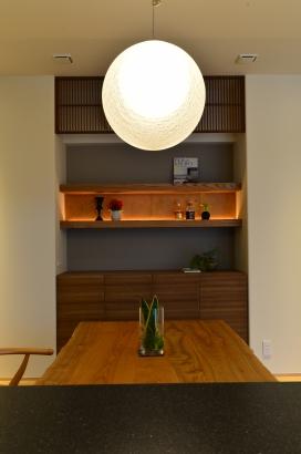 飾り棚スペース