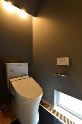 床下エアコンでトイレもあったか空間