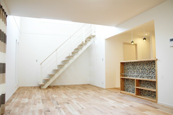ゼロキューブ オープン階段