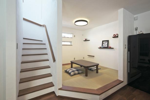 34坪/小上がりの和室