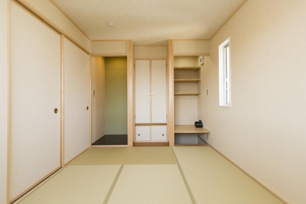 書斎を兼ねた和室