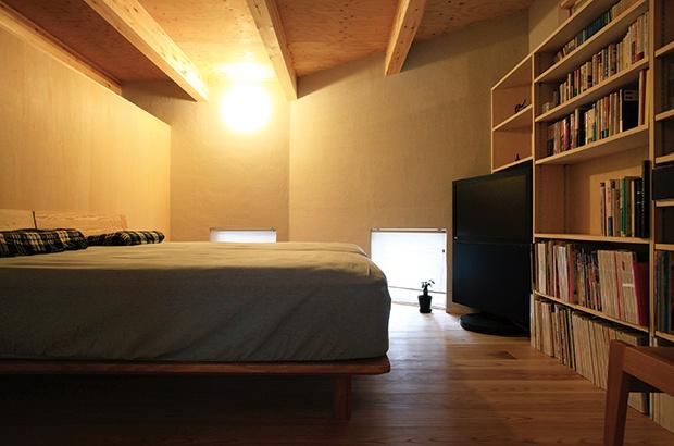 落ち着いた寝室