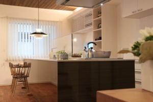 《期間限定公開モデルハウス、オープン》 木と触れ合う漆黒スタイルの家