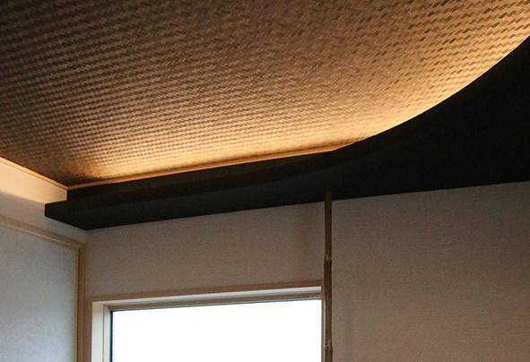 網代天井の和室