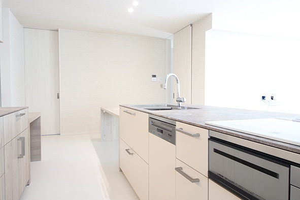 キッチンハウス製のキッチン
