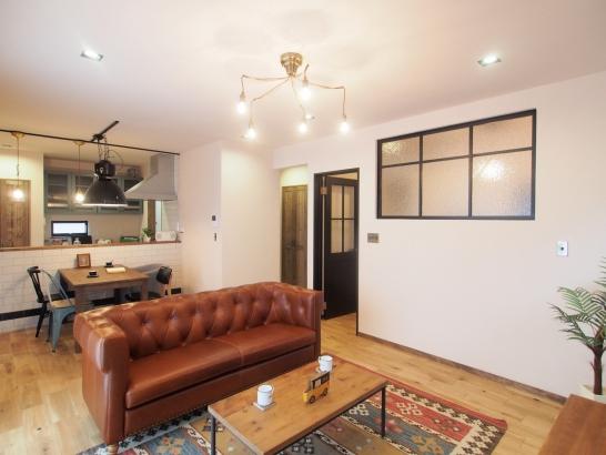 家具&照明もアレッタで全てコーディネート